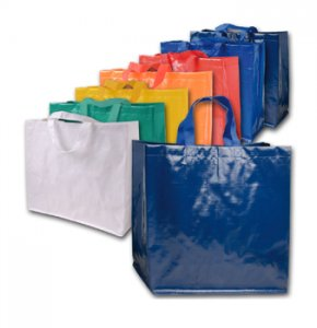 image of PP-12132S  Glossy Food Shopping Bag Size 1